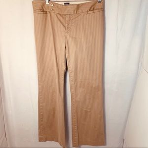 Gap stretched modified fit flare pants
